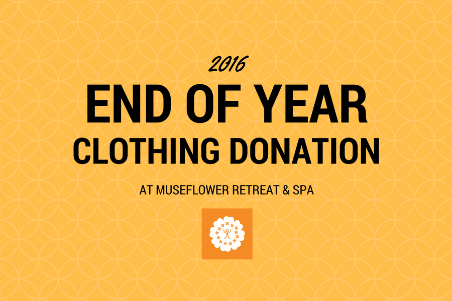 End Of Year Clothing Donation 2016 Cover