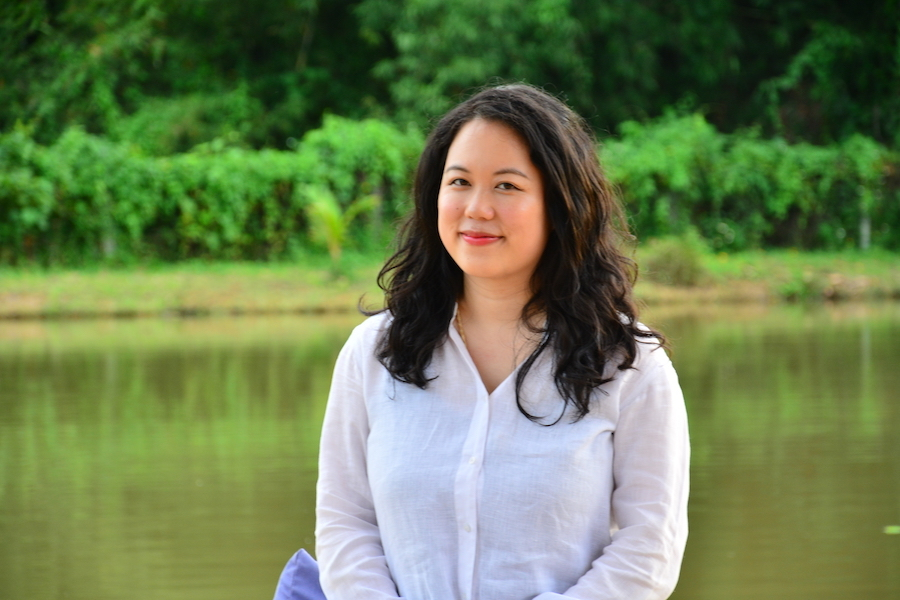 Ssk 9308 Museflower Retreat And Spa Museflower Owner Founder Practitioner Tania Ho Intuitive Guide Profile Pic By The Lake