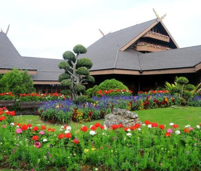 Chiang Rai Attraction Doi Tung Royal Villa Flower Garden Museflower Retreat & Spa