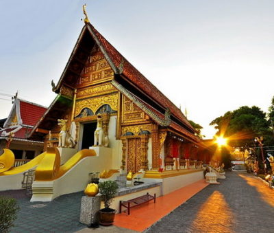 Chiang Rai Attraction Wat Phra Sing Temple-Museflower-Retreat-Spa