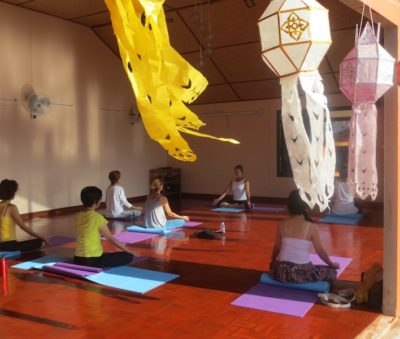 Chiang Rai Pilates and Beginner Yoga Class Museflower Retreat & Spa.