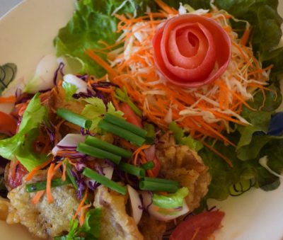 Chiang Rai Thai Vegetarian Vegan Buffet Lunch Museflower Retreat & Spa