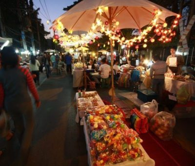 Chiang Rai Walking Street Shopping Food Market Museflower Retreat & Spa