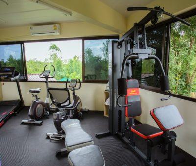 Facilities Spa Fitness Gym Yoga Retreat Center Thailand Museflower Retreat & Spa