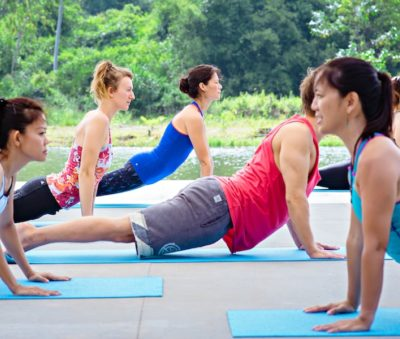 Hatha Yoga Class Chiang Rai Museflower Retreat & Spa