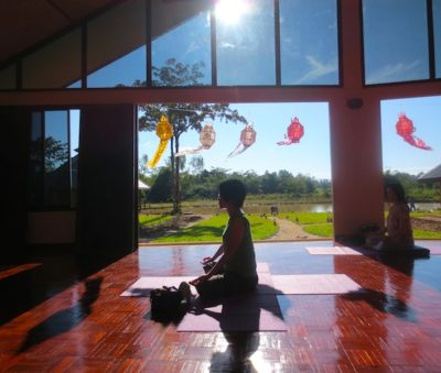 Hatha and Vinyasa Yoga Class Chiang Rai Museflower Retreat & Spa