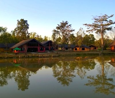 Private Lake Northern Thailand Hotel Museflower Retreat & Spa