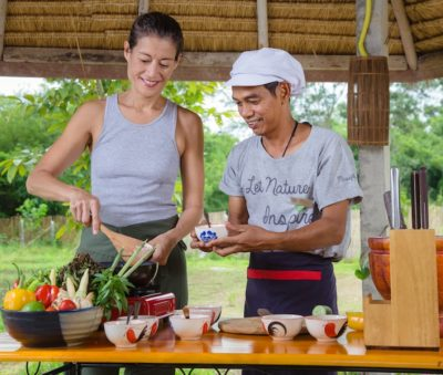 Thai Cooking Class Vegetarian Museflower Retreat & Spa