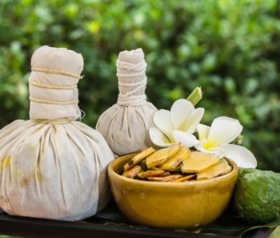 Thai-Herbal Compress Massage Museflower Retreat & Spa