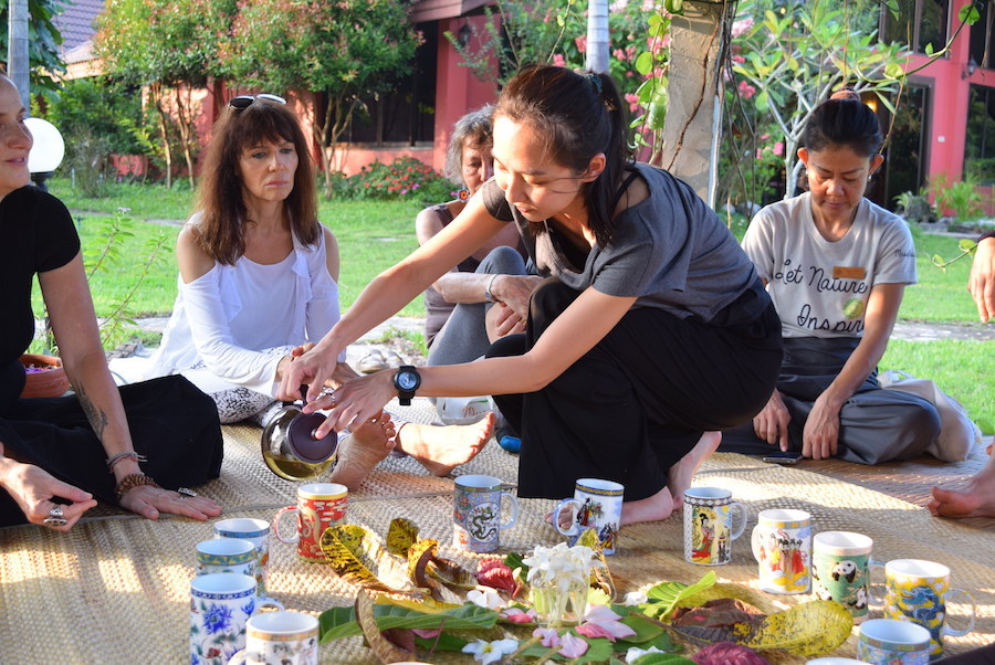 Museflower Retreat And Spa Fourth Annual Museflower Life Festival Event Forest Bathing Tea Ceremony By Youminyap
