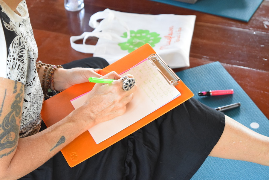 Museflower Retreat And Spa Soulful Reflections Workshop Journaling Dec2018